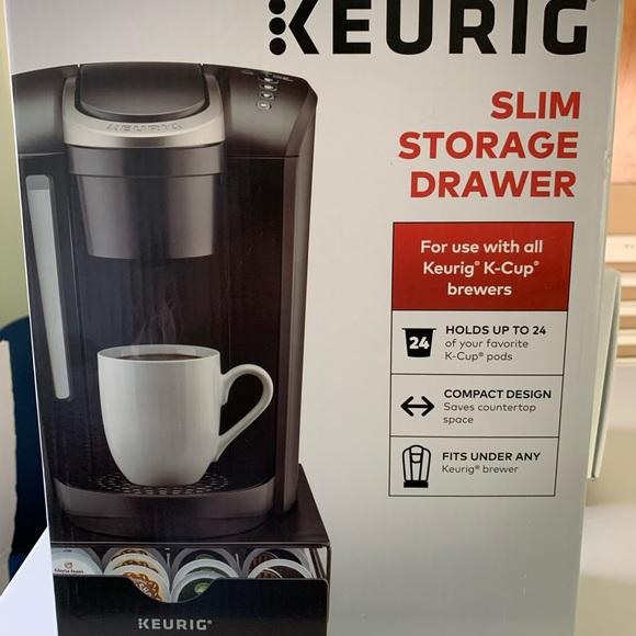 Keurig K Cup Storage Drawer
